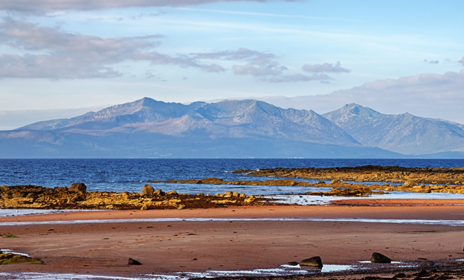 "Arran Mountain Festival celebrates the lie of the island often called ""Scotland in Miniature"""