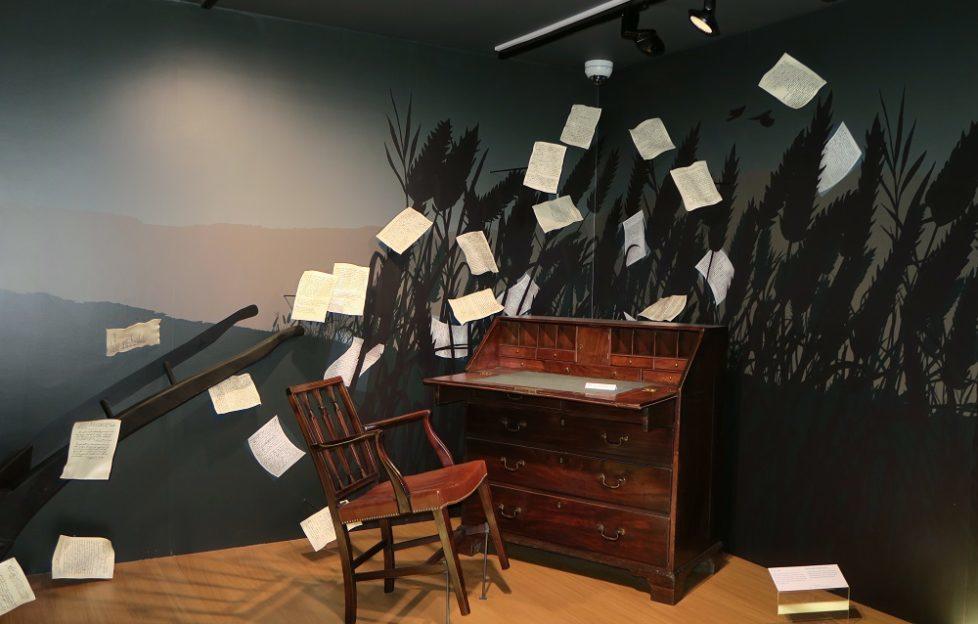 Inside the Burns Museum, Alloway