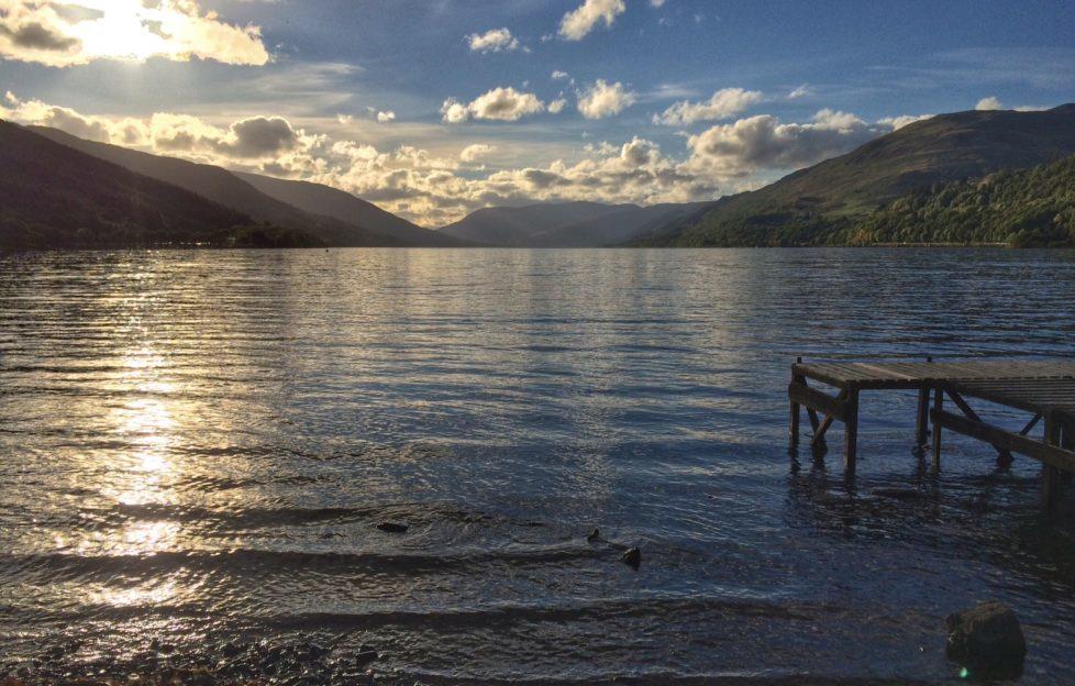 A winter's day on Loch Earn