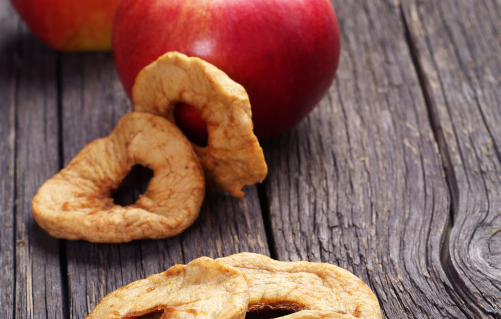 Be careful not to over-bake the apple slices - they should be golden and crispy when done. Pic: Shutterstock