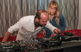 Edith and Mylo combine forces on the decks