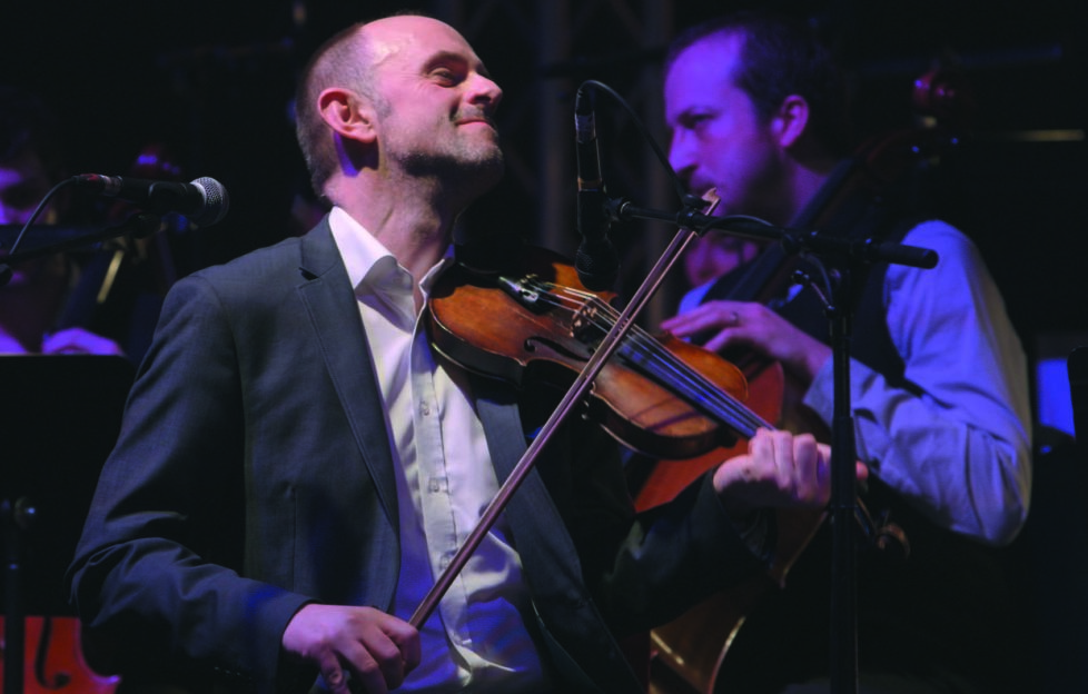 Fiddle player and composer, Duncan Chrisholm, will be performing on the night