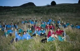 Plea for volunteers to help at Hinterland. Photo copyright Sean Bell