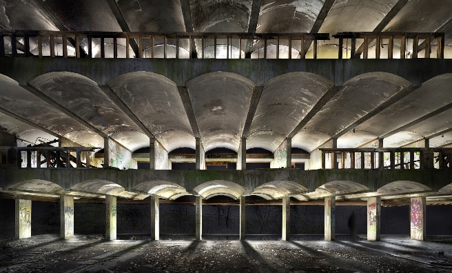 St Peter's Seminary - the abandoned modernist mastetpiece which will host Hinterland. Photo by James Johnson