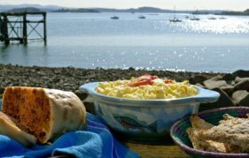 You'll Have Had Yer Tea includes recipes for clootie dumpling and fish pie - my perfect meal!