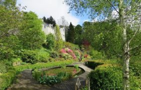 Castlebank Gardens in South Lanarkshire, which features in Scotland's Gardens 2016, is tended by volunteers.