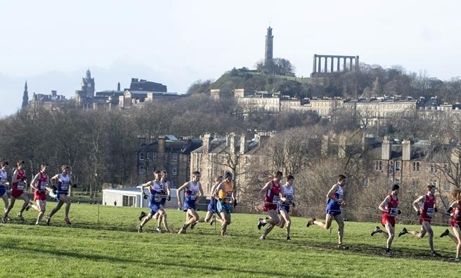 The Pure Gym Winter Run is in Edinburgh's Holyrood Park