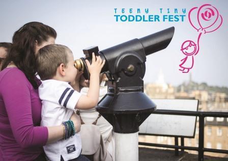 Teeny Tiny Toddler Fest at Edinburgh's Camera Obscura