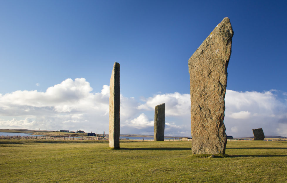 Standing Stones of Stenness. PIc; Shutterstock