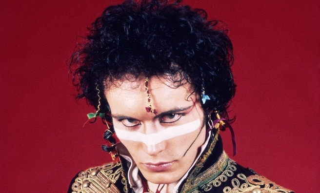 Adam Ant photographed @ Robert Matheu's studio in Hollywood in 1981 - and appearing at Scone this summer.