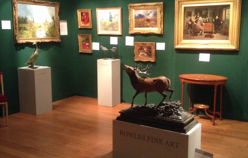 Fine Art and Antiques arrive at Scone Palace...