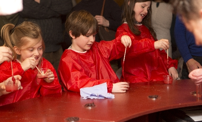 The Edinburgh Science Festival has lots of children's activities - last year, the Blood Bar in the City Arts Centre proved very popular with younger visitors.