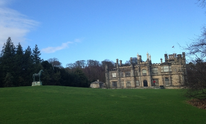 Dalmeny House, ancestral home of the Earls of Roseberry