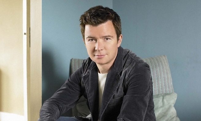 More shameless namedropping... I interviewed Rick Astley when he was a young lad. And he's still a fab singer with a witty line in chat!