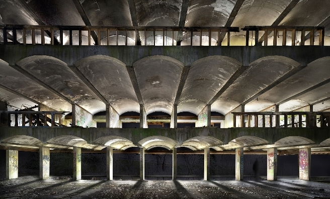 Inside the abandoned St Peter's Seminary. Photo by James Johnson