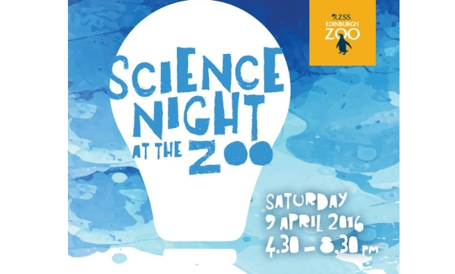 Science Night at Edinburgh Zoo - one of many events happening there during Edinburgh International Science Festival