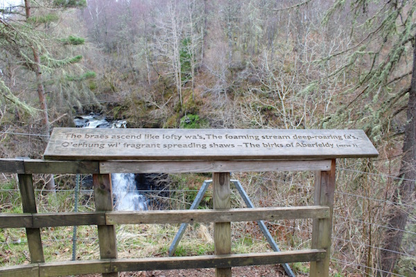 At the Birks of Aberfeldy