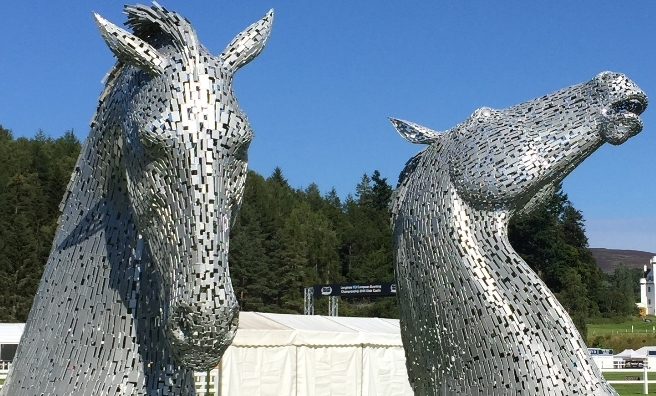 The Kelpie maquettes will be appearing at Edinburgh Zoo during Edinburgh International Science Festival