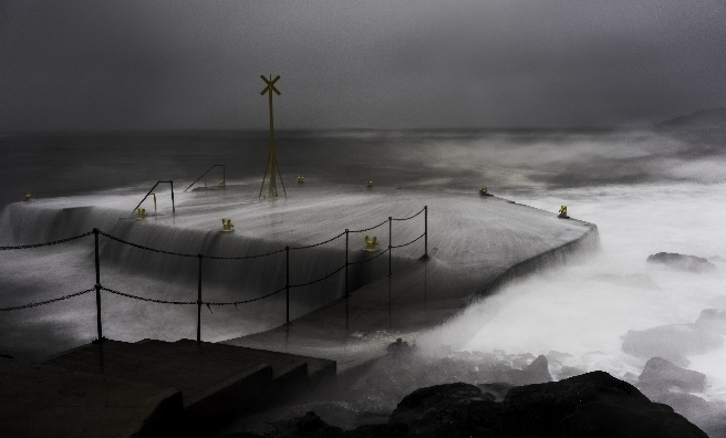 The Pier by Lewis Henderson. Courtesy of Scottish Seabird Centre Nature Photography Awards