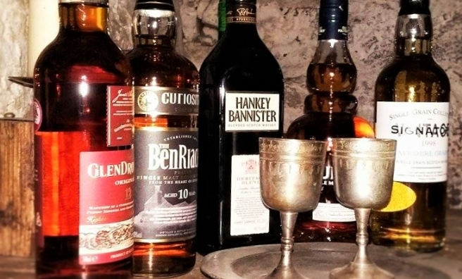 Drop in for a dram at Mary King's Close. Photo courtesy of The Real Mary King's Close