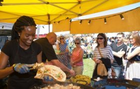 Street food from across the globe's on offer at Foodies Festival Edinburgh
