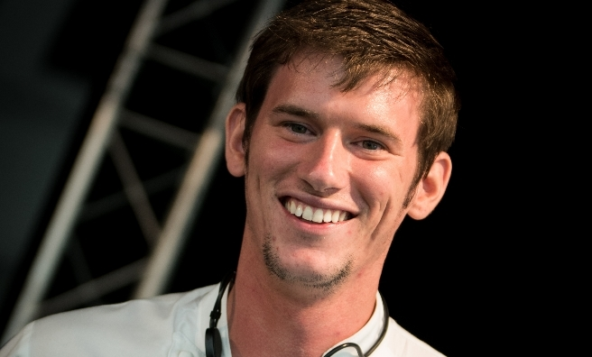 Top chef Adam Handling is appearing at the Foodies Festival in Edinburgh this summer