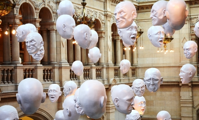 One of the many stunning exhibits at Kelvingrove Museum. Photo by Brendan Howard/Shutterstock