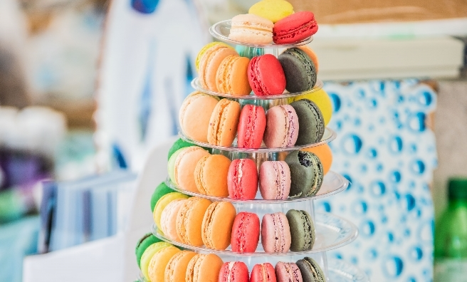 Sweet treats galore at Edinburgh's Foodies Festival