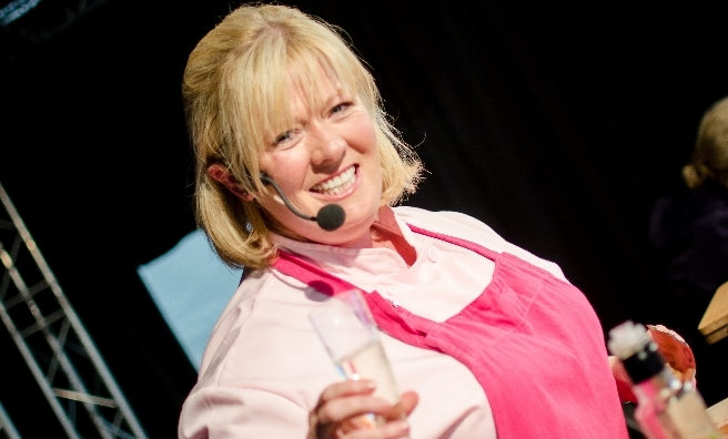 Jacqueline O'Donnell's demos are always one of the highlights of Foodies Festival Edinburgh