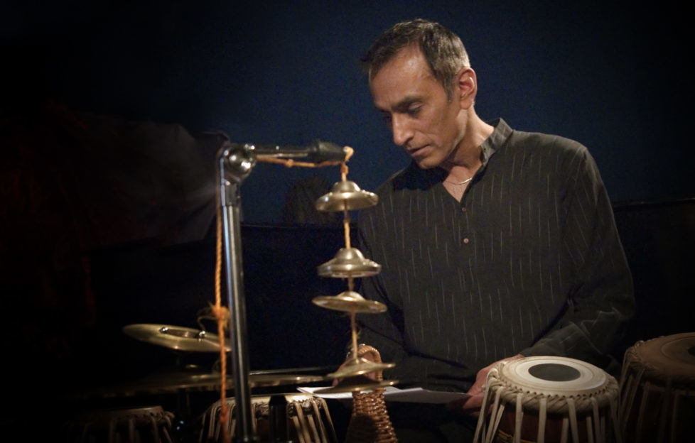 Internationally acclaimed tabla player Kuljit Bhamra plays with the Red Note Ensemble this week