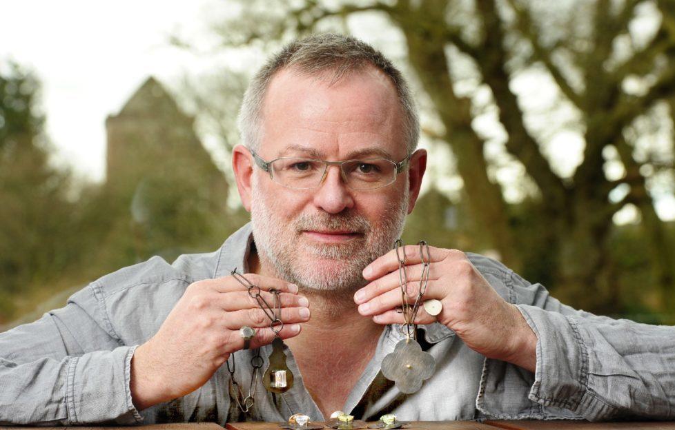 Jeweller Michael Pell. Pic: Colin Hattersley