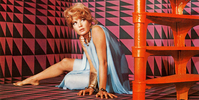 Modesty Blaise in all her 1960's glory