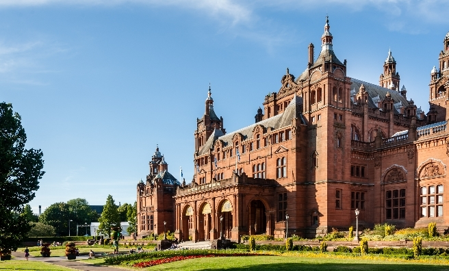 Kelvingrove Museum, Glasgow. Photo by Shutterstock