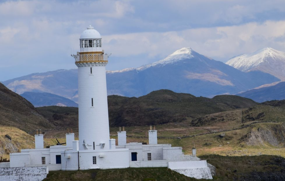 Eilean Musdile lighthouse is one of the great camera opportunities from the ferry