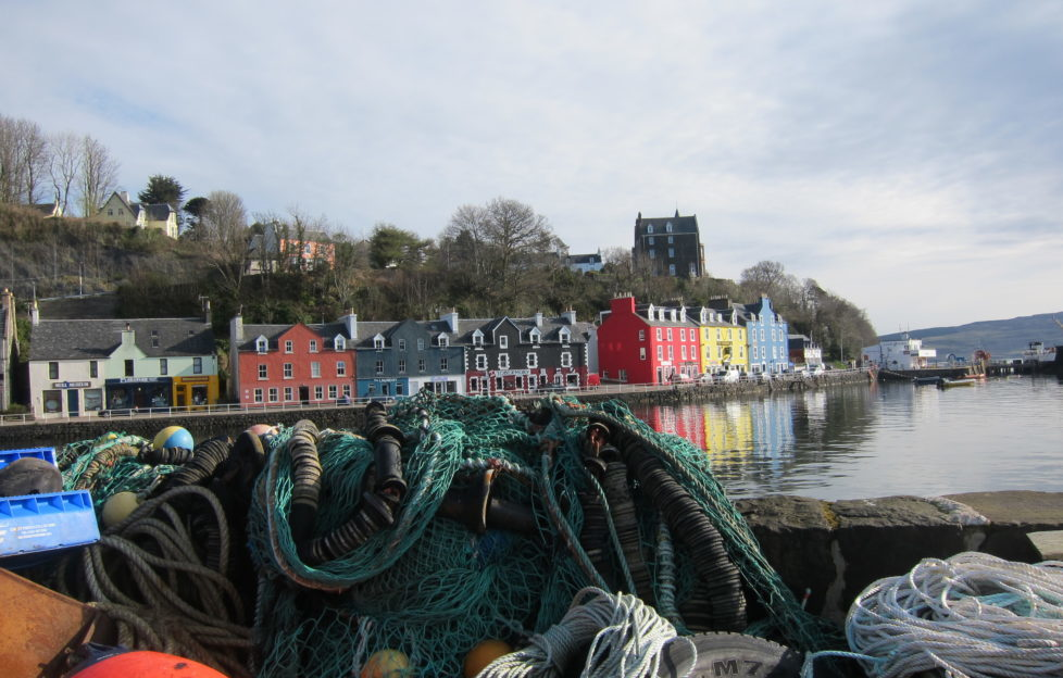 Tobermory - a rainbow of colour in any weather