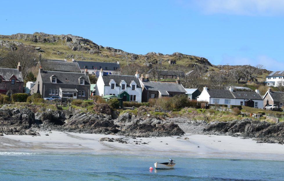 The small, but vibrant community on Iona
