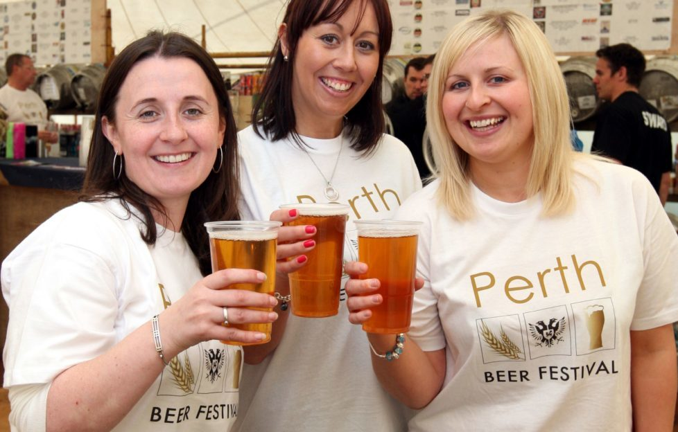 Perth Beer Festival - there's a selection of wine too!