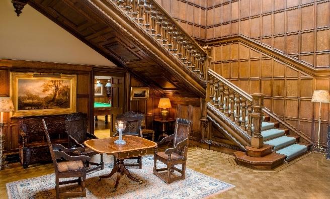 A grand entrance hall for a grand house - Dundas Castle