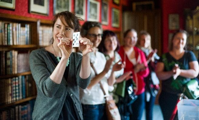 Magic is in the air at Laurieston Castle during Edinburgh International Magic Festival
