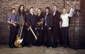 Skerryvore will be performing at The Spree in Paisley.