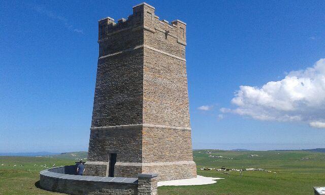 The Kitchener Memorial commemorates a tragic loss