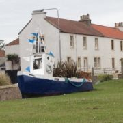 A nautical welcome to Pittenweem.