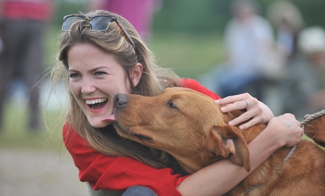 Puppy love is everywhere at the Scottish Game Fair!