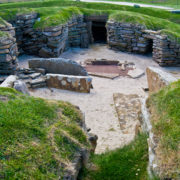 Skara Brae is an incredibly well-preserved prehistoric village