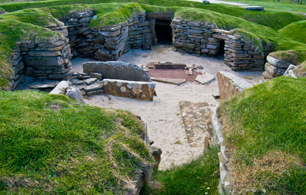 Skara Brae is an incredibly well-preserved prehistoric village