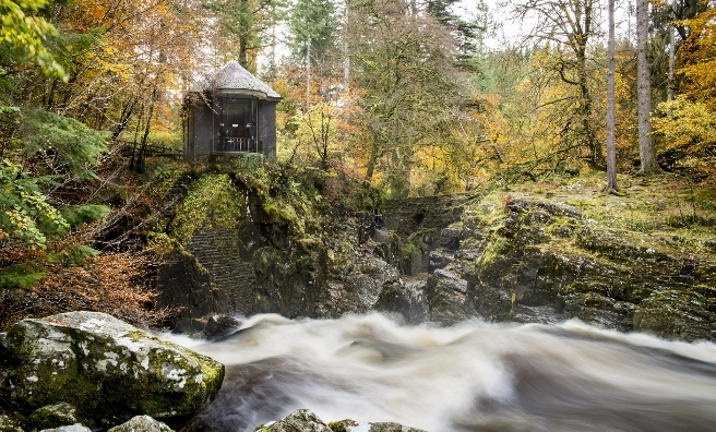The Hermitage - home to dippers. VisitScotland / Kenny Lam.