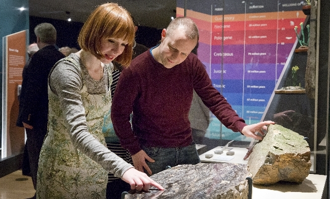 Last chance to visit the Fossil Hunters exhibition at the National Museum of Scotland. © Ruth Armstrong Photography
