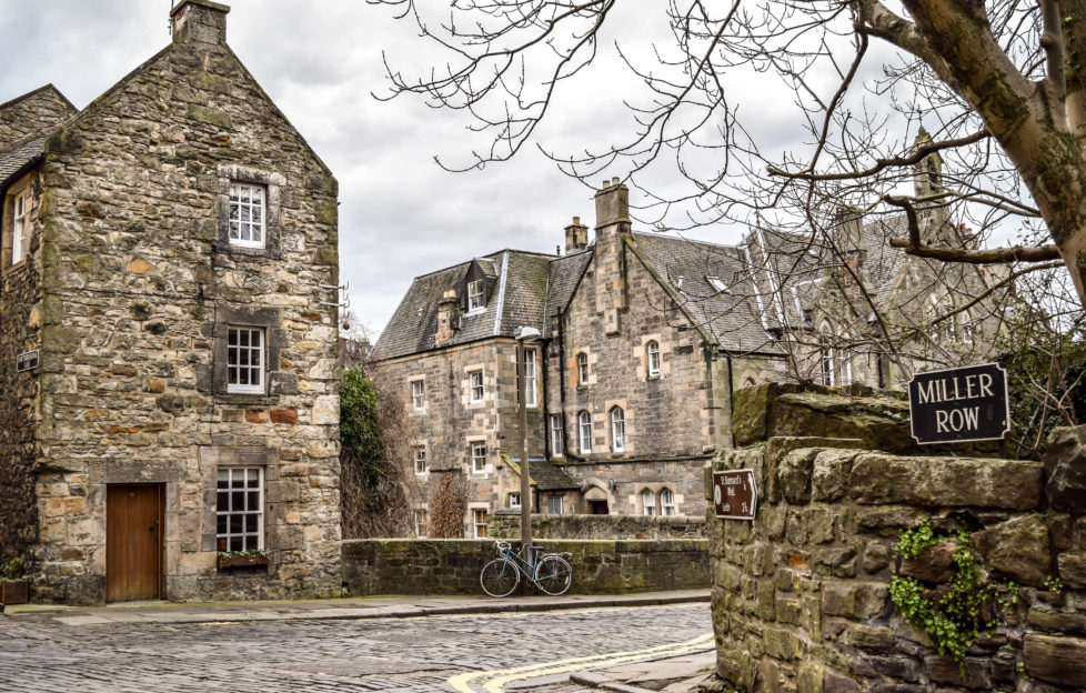 Head to Dean Village for the quaint and quiet.