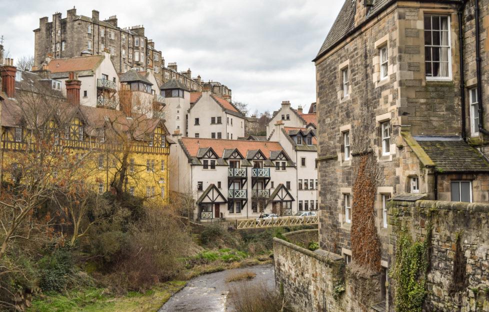 Escape to the fairy tale Dean Village