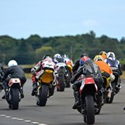 Get close to the action at East Fortune Race Circuit. Photo by Sylvia Beaumont